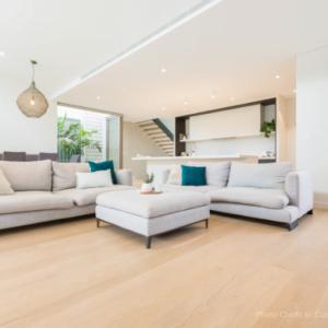 Solid Oak Flooring Perth Living Room Installation