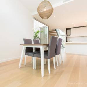 Solid Oak Flooring Perth Kitchen Installation