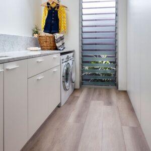 Hydroplank Hybrid Flooring Laundry Installation