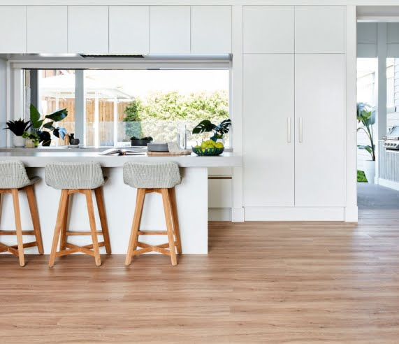 Hydroplank Hybrid Flooring Kitchen Installation