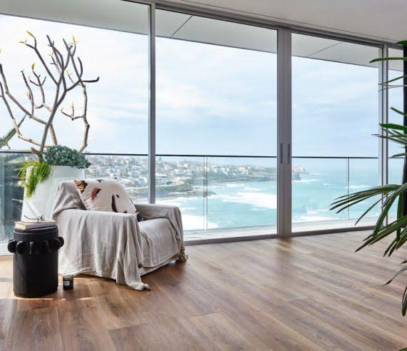 Hydroplank Hybrid Flooring Living Room Installation