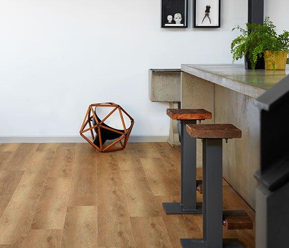 Aspire Hybrid Flooring Kitchen Installation