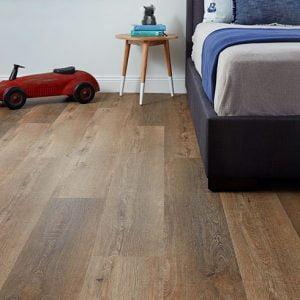 Aspire Hybrid Flooring Bedroom Installation