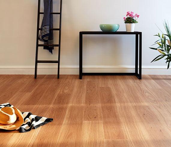 Aspire Hybrid Flooring Living Room Installation