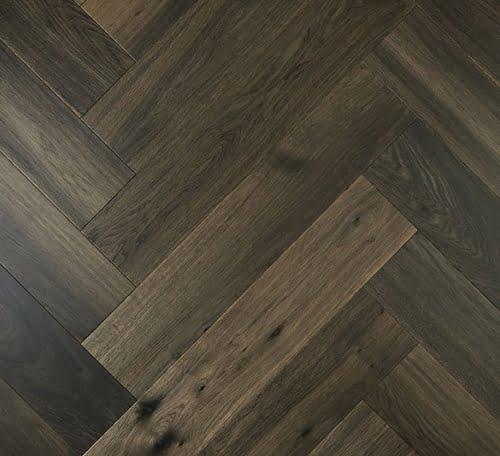 Ash Grey De Marque Oak Parquetry Flooring
