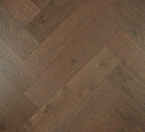 Dark Brown De Marque Oak Parquetry Flooring