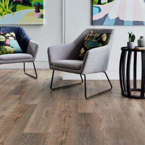 Iconic Hybrid Flooring Living Room Installation