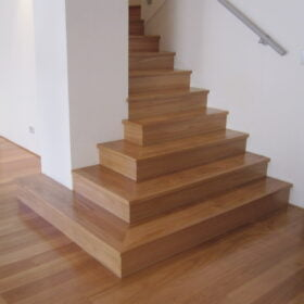 Solid Blackbutt Stairs