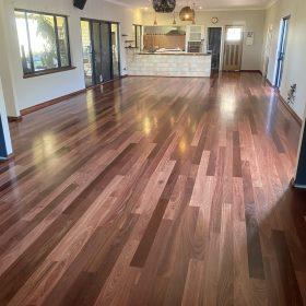 Solid Jarrah Flooring