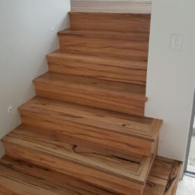 Solid Marri Stairs